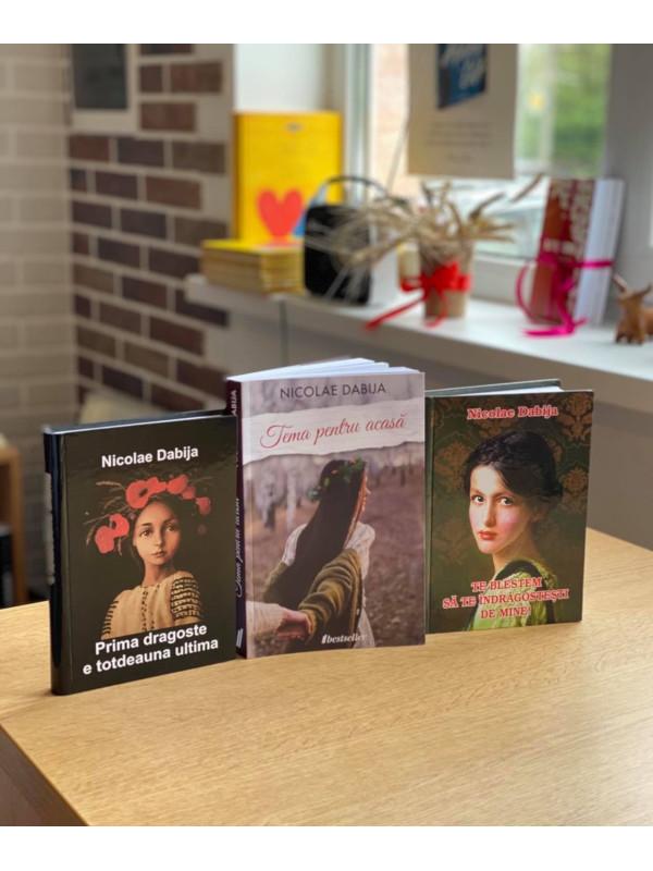 Pachet Promoțional cu 3 cărți de Nicolae Dabija