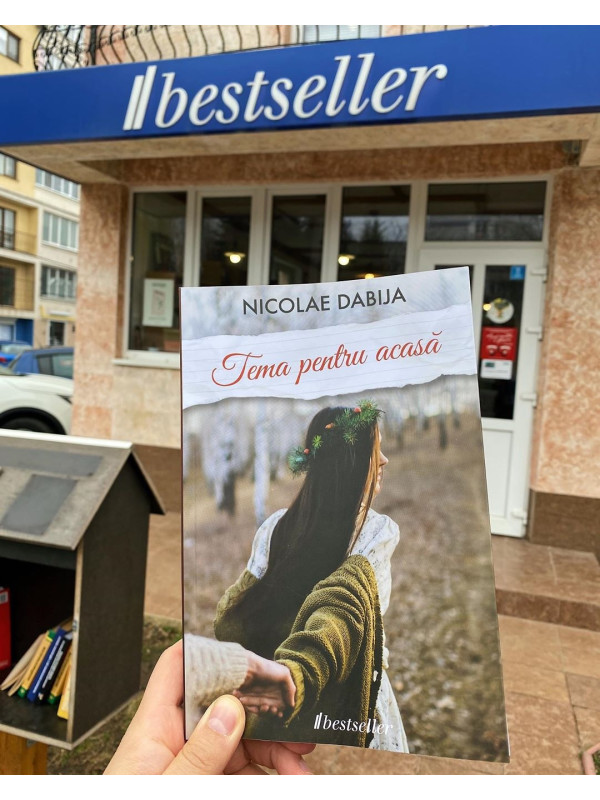 """Pachet Promoțional """"Tema pentru acasă"""" și """"Te blestem să te îndrăgostești de mine"""" de Nicolae Dabija"""