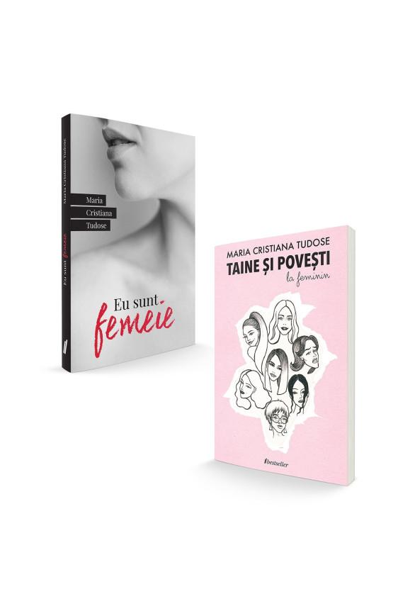 """Pachet Promoțional """"Eu sunt femeie"""" și """"Taine și povești la feminin"""""""