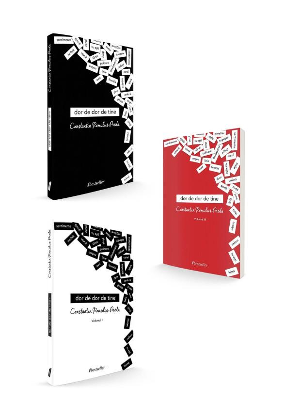 """Trilogia """"Dor de dor de tine"""" - Volumele 1, 2 și 3 (Cărți cu Autograf)"""