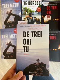 """NOU: Pachet Promoțional Seria de 4 cărți """"Trei metri deasupra cerului"""""""