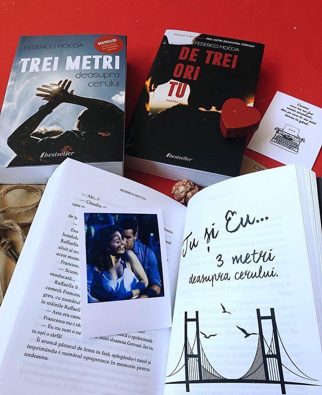 De trei ori tu partea 2 Trei metri deasupra cerului Federico Moccia Editura Bestseller